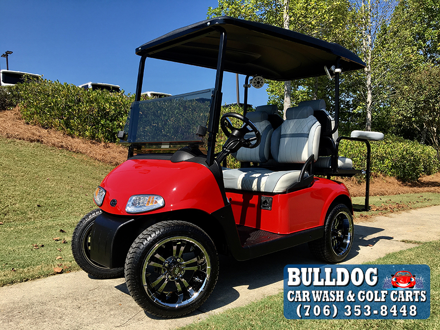 2013 EZGO RXV – Bulldog Car Wash  Ezgo Rxv Golf Cart White on lincoln on a rail cart, 2013 ezgo txt, 2013 ezgo electric golf cart,